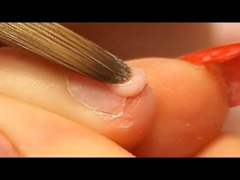 How to Apply Acrylic Nails on Short Bitten Nails Tutorial Video by Naio Nails - UCtDtcvOyPm2jSAMtqeVPggA