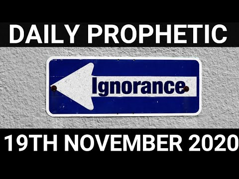 Daily Prophetic 19 November 2020 11 of 12