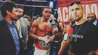 Errol Spence Extremist Pulling For Pacquiao Over Keith Thurman | PBC PPV  Under Card Predictions