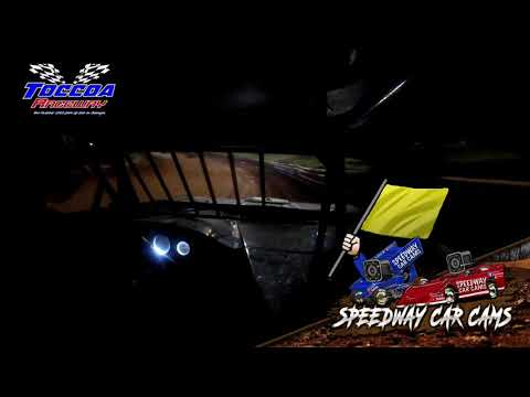 #98 Jimmy Johnson - Stock 8 - 9-5-21 Toccoa Raceway - In-Car Camera - dirt track racing video image