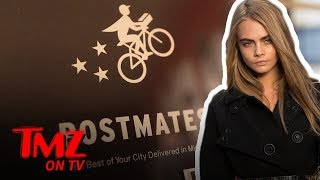 Cara Delevingne Has Dropped $25,000 On Postmates Since 2014 | TMZ TV
