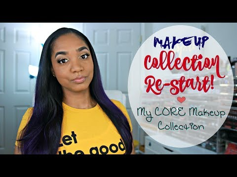 MAKEUP Collection RESTART 💕 My Core Makeup Products 💕 Faves + Must Haves! - UCPWE8QVTHPLqYaCOuqWNvIw