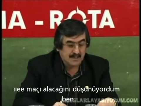Ne dediği anlaşılmayan adam - Boluspor Teknik direktörü