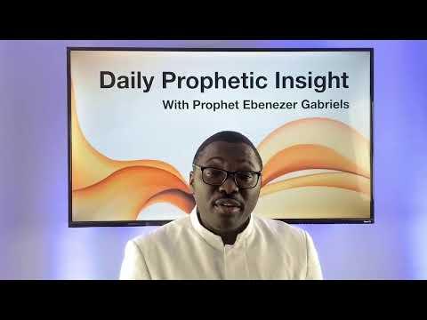 Prophetic Insights - December 24, 2020
