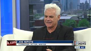 Comedian and author, Joe Nipote, previews show at The Laugh Factory