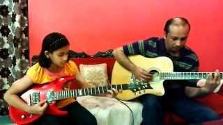 Pal Pal Har Pal on Guitar - mnm8 , Pop