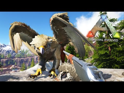 ARK: Survival Evolved - GRIFFIN TAMING!! (ARK Ragnarok Gameplay) - UC2wKfjlioOCLP4xQMOWNcgg