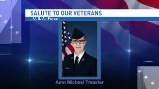 Salute to our veterans: Airman Michael Treaster - NBC 15 WPMI