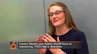 Candidate Brittany Cannon Dement discusses goals for the city and her campaign so far in the Auburn mayoral election.