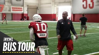 Mic'd Up with Troy Walters | 2019 BTN Bus Tour | B1G Football