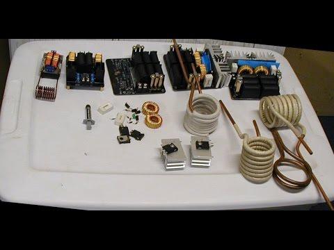 Banggood ZVS 1000 Watt Induction Heater Experiments - UCuazfefsFtE_9a2paf_yE-A