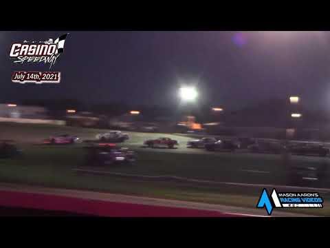 Casino Speedway WISSOTA Street Stock A-Main (7/14/21) - dirt track racing video image