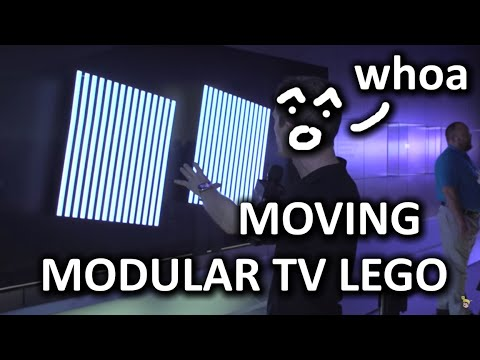 The Modular TVs of the Future - Samsung Booth - CES 2016 - UCXuqSBlHAE6Xw-yeJA0Tunw