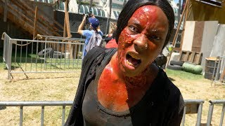 Surviving the zombie apocalypse at the Walking Dead experience