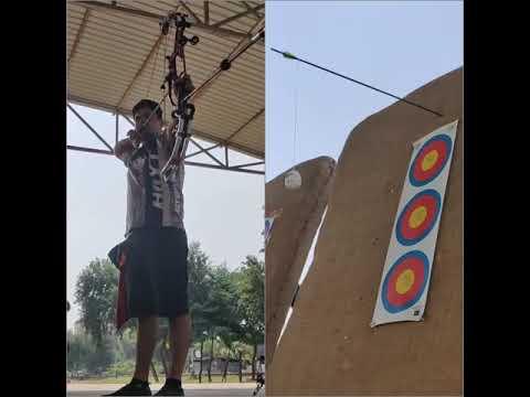 Abhishek Verma | Archery trick shots