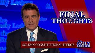 Final Thoughts: My Constitutional Pledge