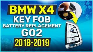 Cambio batteria chiave Bmw X4 G02 da 2018