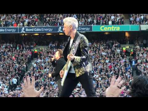 Intro - U2 The Joshua Tree 30th Anniversary Tour 4K @ Croke Park Dublin 22-07-2017