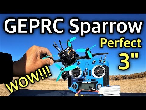 GEPRC GEP - MX3 Sparrow Micro FPV Racing Drone - UC9l2p3EeqAQxO0e-NaZPCpA