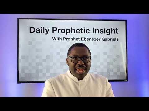 Prophetic Insight  Dec 31st, 2020