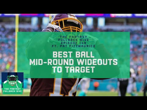 Mid-Round WRs to Target in 2020 Fantasy Best Ball   Fantasy Football Podcast