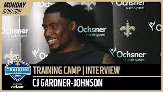 CJ Gardner-Johnson Focused on Technique at Saints Training Camp | New Orleans Saints