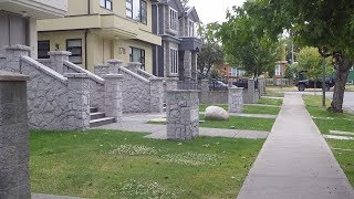Walking in East Vancouver Canada. Fraserview/Killarney Area. Tour of Residential Neighbourhood.