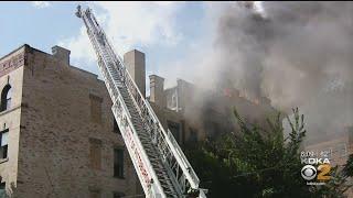Five Alarm Fire Erupts In Oakland