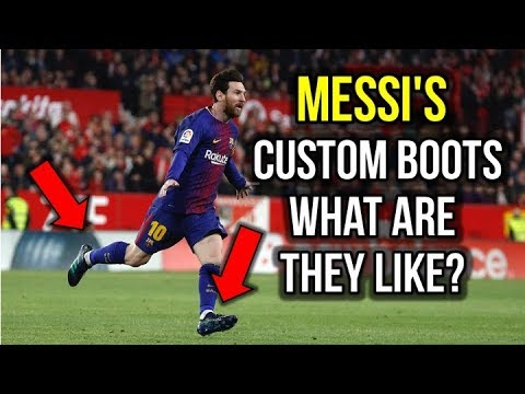 WHAT'S DIFFERENT ABOUT MESSI'S CUSTOM FOOTBALL BOOTS? - UCUU3lMXc6iDrQw4eZen8COQ
