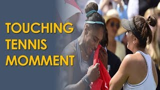 Bianca Andreescu Comforts Serena Williams after 2019 Rogers Cup Retirement