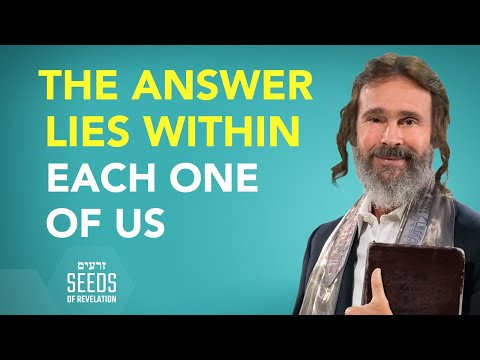 The Answer Lies Within Each One of Us