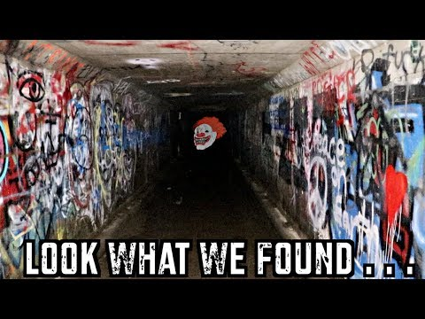 Exploring Haunted Tunnel...
