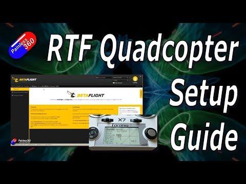 BNF/RTF/PNF Quadcopter Simple Betaflight Setup - UCp1vASX-fg959vRc1xowqpw
