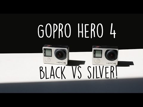 Gopro Hero4 Black vs Silver Review! (4K)