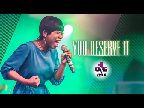 You Deserve It - Everything For Me  One Voice WCIMD
