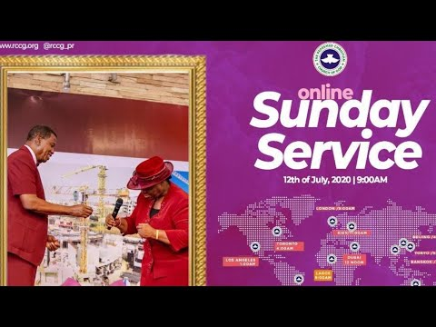 RCCG JULY 12th 2020  PASTOR E.A ADEBOYE SPECIAL SERVICE