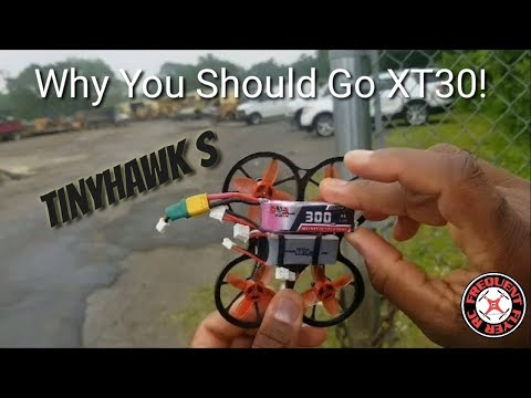 TinyHawk S - Why You Should Switch To XT30 for 2S - UCNUx9bQyEI0k6CQpo4TaNAw