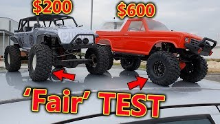 Cheap VS Expensive RC Crawler FAIR Test - Who will win?
