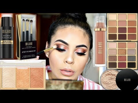 TESTING NEW MILANI 2018 MAKEUP: HIT OR MISS? |  JuicyJas - UCqTR5f7YkGro3cPv23SqcqQ