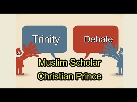 Trinity Debate  ::  Scholar Dr Sabeel Ahmed INDIA & Christian Prince (Part 1 of 2)