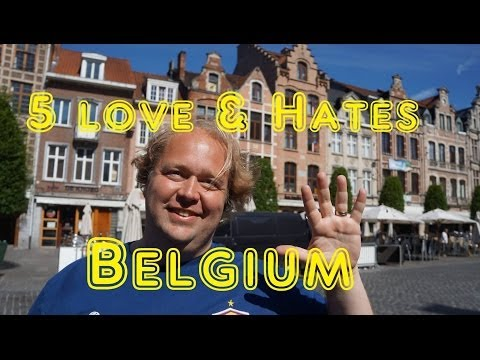 Visit Belgium - 5 Things You Will Love & Hate about Belgium - UCFr3sz2t3bDp6Cux08B93KQ