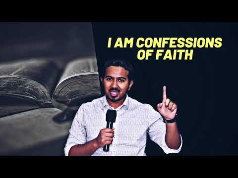 I AM CONFESSIONS OF FAITH AS LED BY THE HOLY SPIRIT WITH EVANGELIST GABRIEL FERNANDES