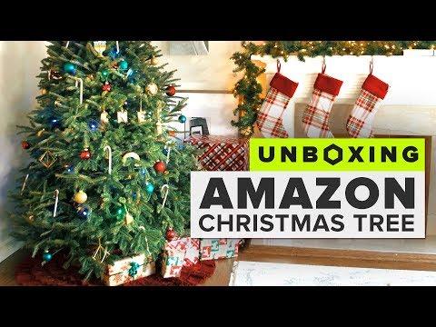 Unboxing an Amazon Christmas Tree - UCOmcA3f_RrH6b9NmcNa4tdg
