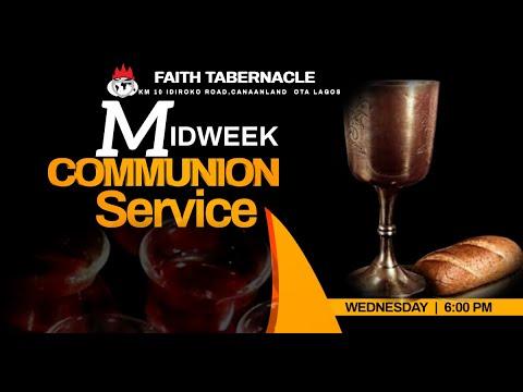 DOMI STREAM: MID-WEEK COMMUNION SERVICE  17, MARCH 2021  FAITH TABERNACLE OTA