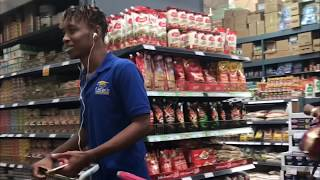 Pranking people at  A supermarket