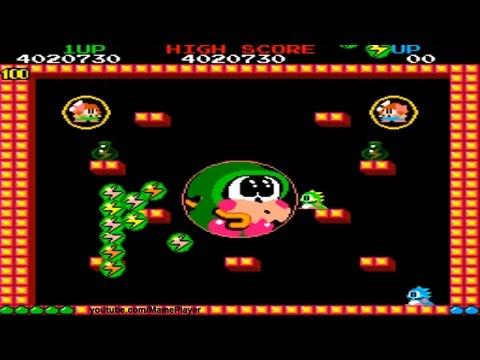 Bubble Bobble Round 99-100 Happy and Real End 1986 Taito Mame Retro Arcade Games - default