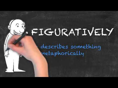 Figuratively vs Literally - English Grammar - Teaching Tips