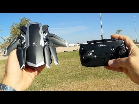 Jingdatoys JD-20S Long Flying Folding FPV Drone Flight Test Review - UC90A4JdsSoFm1Okfu0DHTuQ