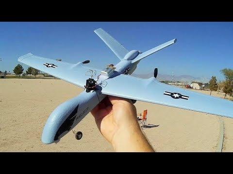 Predator Drone (MQ-9 Reaper) FPV Conversion Flight Test Review - UC90A4JdsSoFm1Okfu0DHTuQ