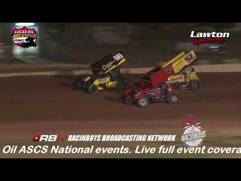 Highlights of round two of the American Sprint Car Series National Tour's Sizzlin Summer Speedweek from Lawton Speedway in Lawton OK held June 5 2019. Watch this race and hundreds of others in their entirety by becoming a RacinBoys premium member. Only $6.50 a month or $50 a year. Join Today at Racinboys.com - dirt track racing video image